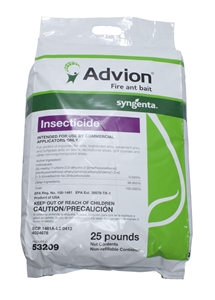 Advion Fire Ant Bait 25 Lbs