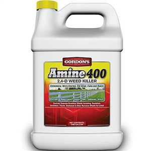 Amine 400 2 4 D Weed Killer Concentrate Herbicide 1 Gallon